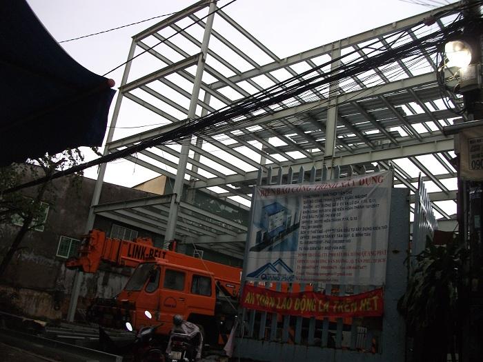 công trình xây dựng nhà thép