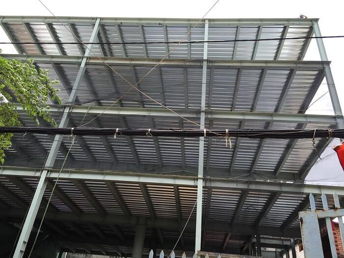 Quy trình lắp dựng nhà xưởng công nghiệp kết cấu thép