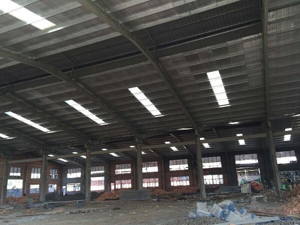 Các loại nhà thép công nghiệp và mẫu nhà thép công nghiệp hiện nay